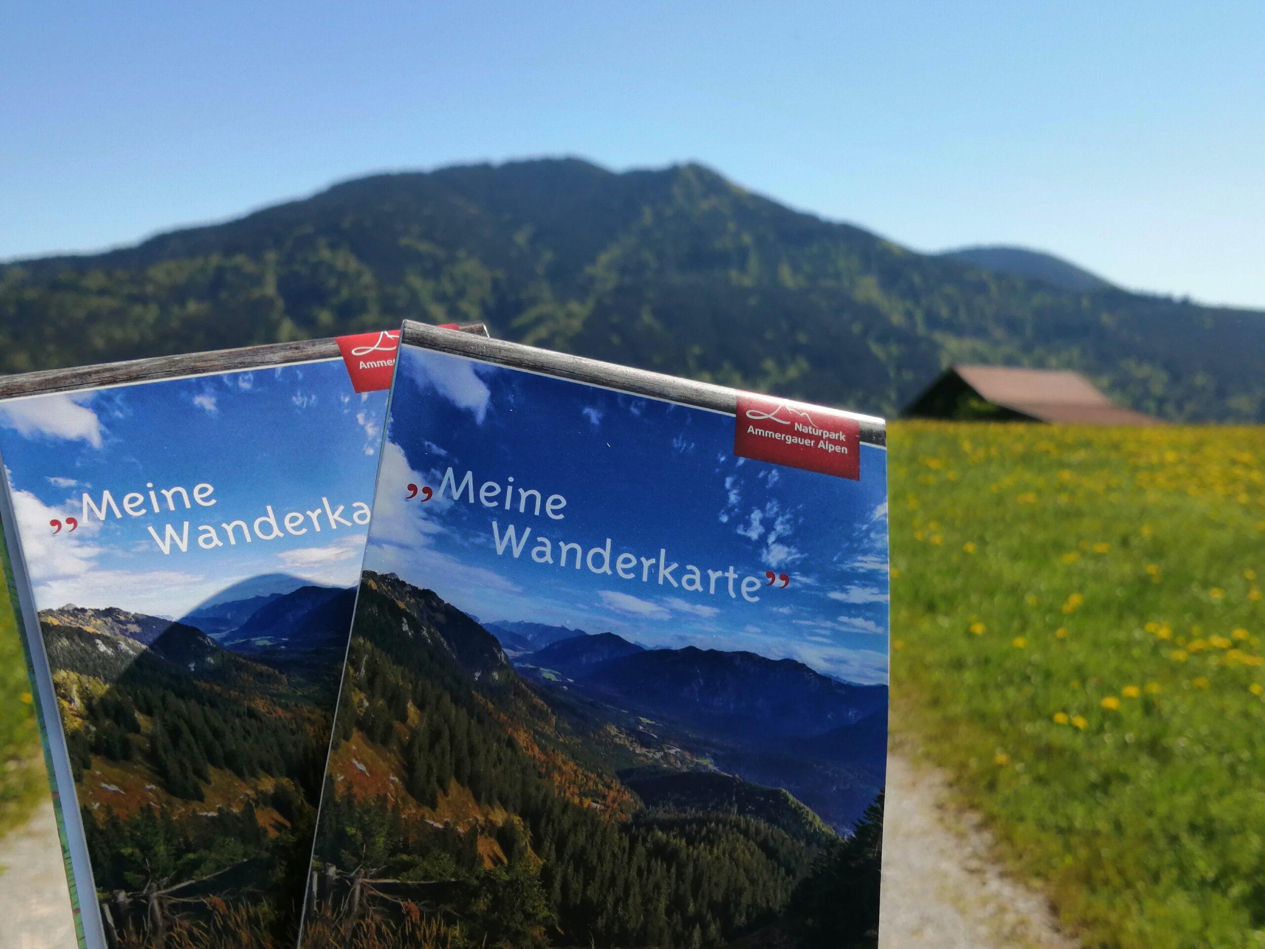Wanderkarte Wasserfest- Wiesendanger medien Druckerei UV-Offset