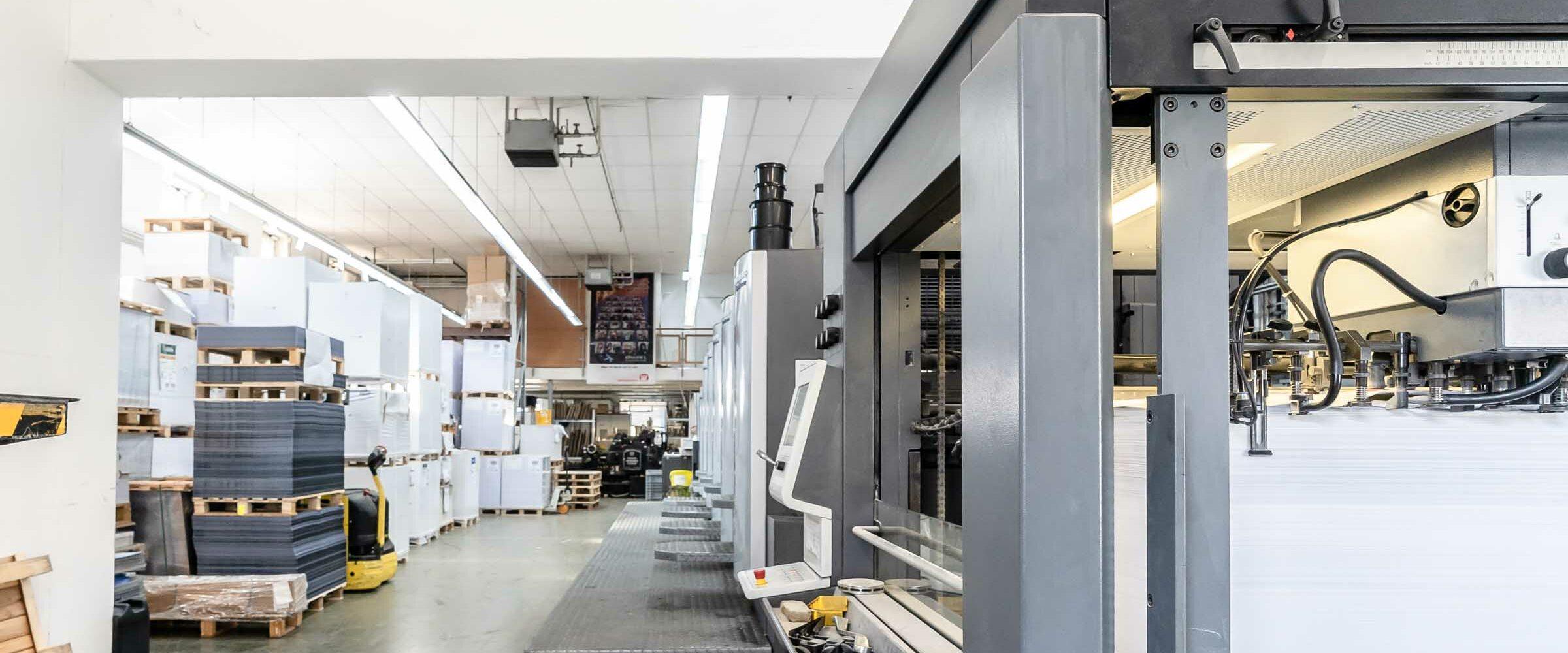 Wiesendanger medien, Druckerei, UV-Offset, CMYK