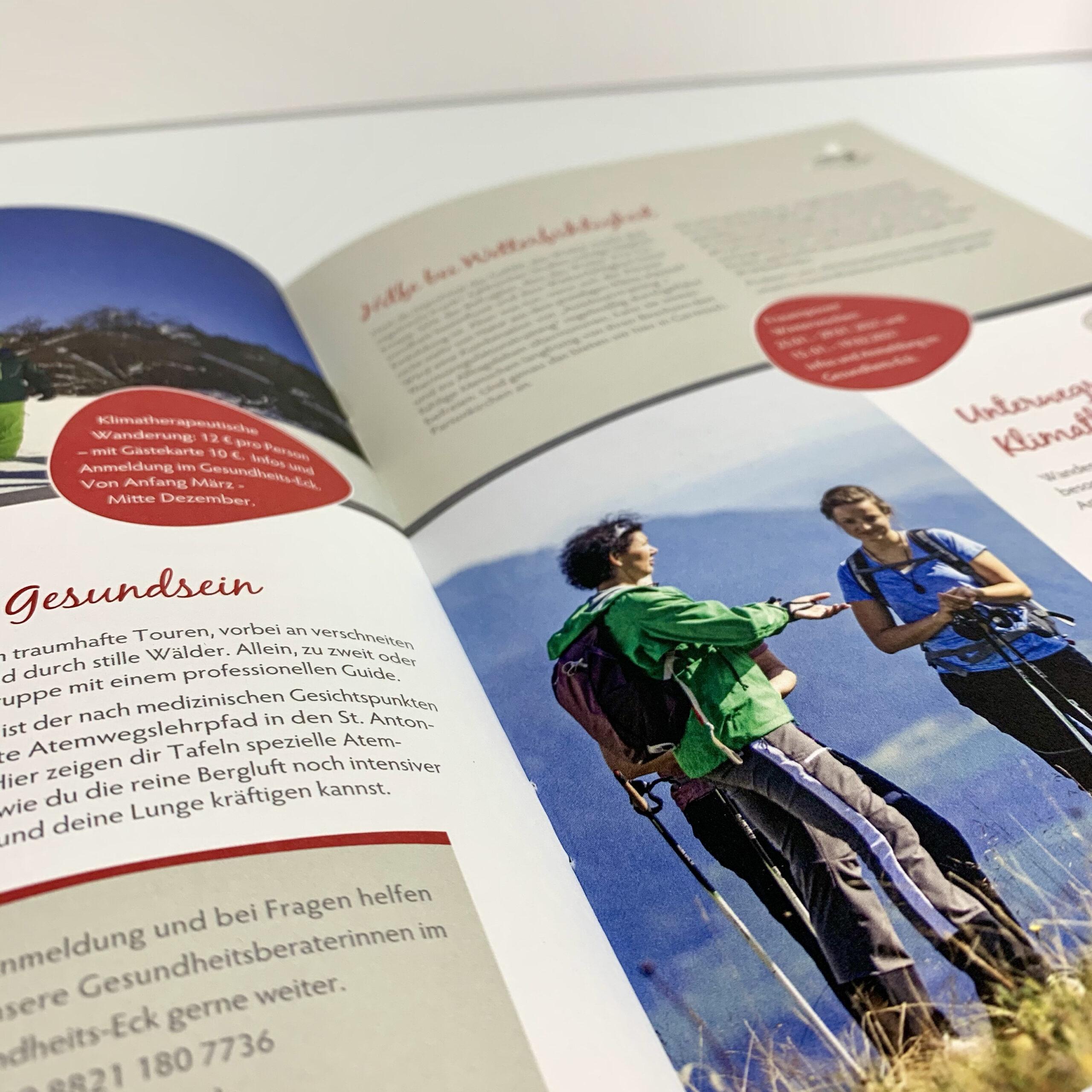Broschuere Gapa Winter6 - Rückstichhefung Wiesendanger medien Druckerei UV-Offset