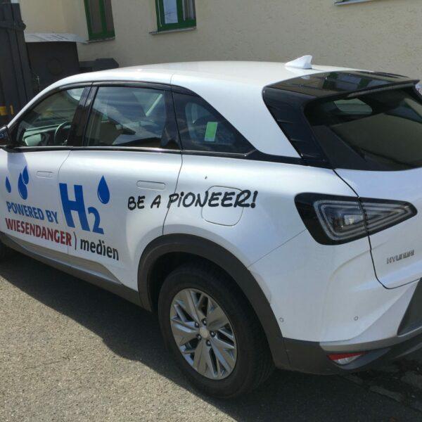 Nexo 2 Wasserstoffauto Wiesendanger medien Druckerei