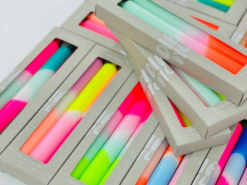 Kerzenverpackung Simple
